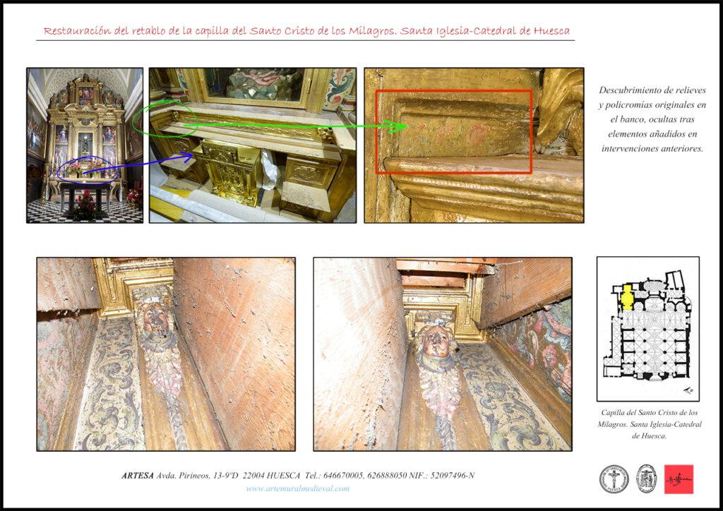 Restauración de retablo
