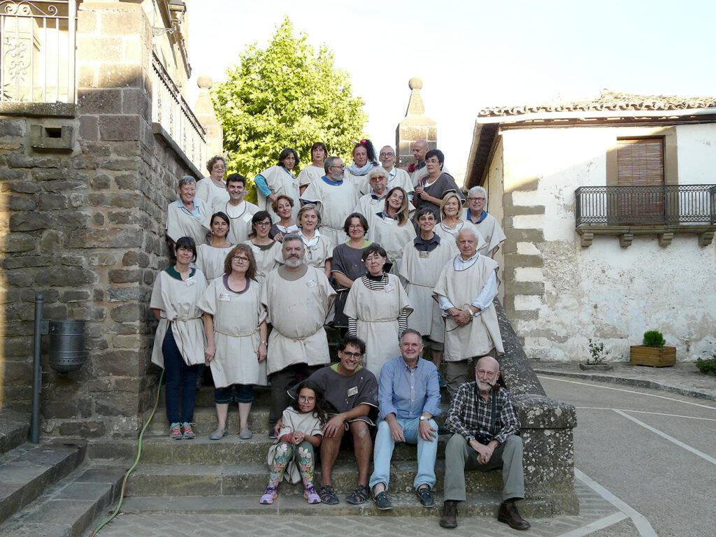 Alumnos del Taller de Urriés.